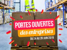 Portes ouvertes des entreprises du 24 au 28 juin 2019