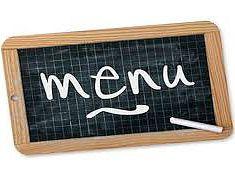 Menu restaurant scolaire de janvier 2021