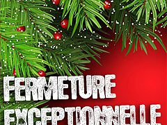 ACCUEIL DE LOISIRS FERMETURE FIN D'ANNEE