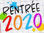 INSCRIPTIONS RENTREE 2020-2021