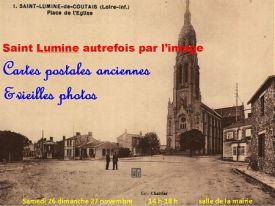 Exposition Saint Lumine autrefois